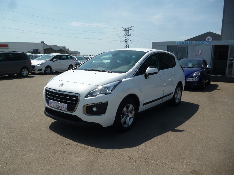 Peugeot 3008 1.6 BLUEHDI 120CH ACTIVE BUSINESS S&S Diesel BLANC Occasion à vendre