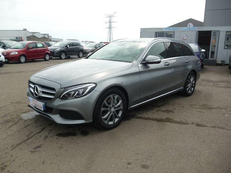 Mercedes-Benz CLASSE C BREAK (S205) 220 BLUETEC BUSINESS EXECUTIVE 7G-TRONIC PLUS Diesel GRIS C Occasion à vendre