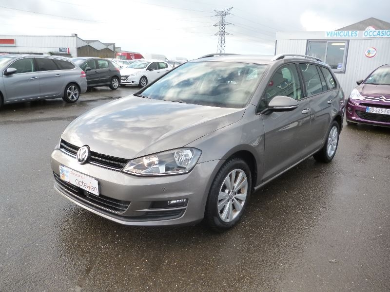 Volkswagen GOLF VII SW 1.6 TDI 110CH BLUEMOTION TECHNOLOGY FAP CONFORTLINE BUSINESS Diesel GRIS F Occasion à vendre