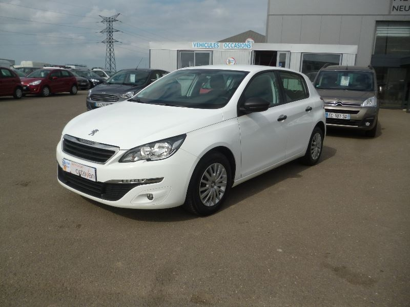 Peugeot 308 AFFAIRE 1.6 HDI 92 PACK CD CLIM Diesel BLANC Occasion à vendre