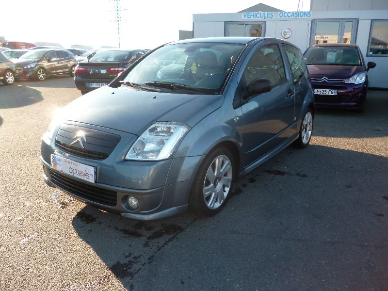 Citroen C2 1.4 HDI70 SO CHIC Diesel GRIS F Occasion à vendre