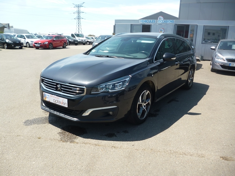 Photo 1 de l'offre de PEUGEOT 508 SW 2.0 BLUEHDI 180CH FAP ALLURE EAT6 à 12690€ chez Jestin autos