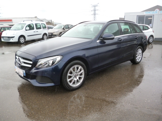 Mercedes-Benz CLASSE C BREAK (S205) 180 D BUSINESS 7G-TRONIC PLUS Diesel BLEU F Occasion à vendre