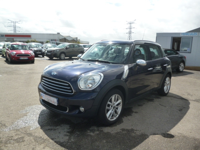 Mini COUNTRYMAN ONE D 90CH PACK CHILI Diesel BLEU F Occasion à vendre